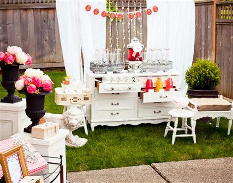 shabby chic bridal shower decorations friday briday a shabby chic bridal shower lucky in
