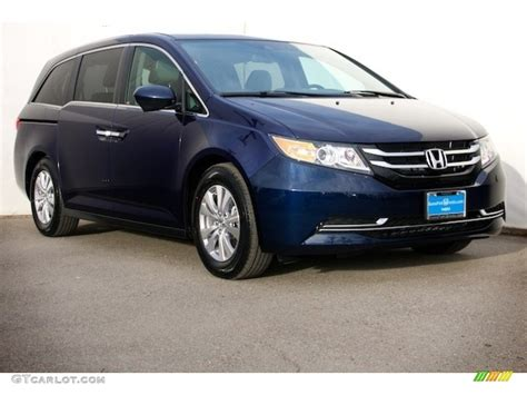 obsidian blue color 2017 obsidian blue pearl honda odyssey se 119753483 photo