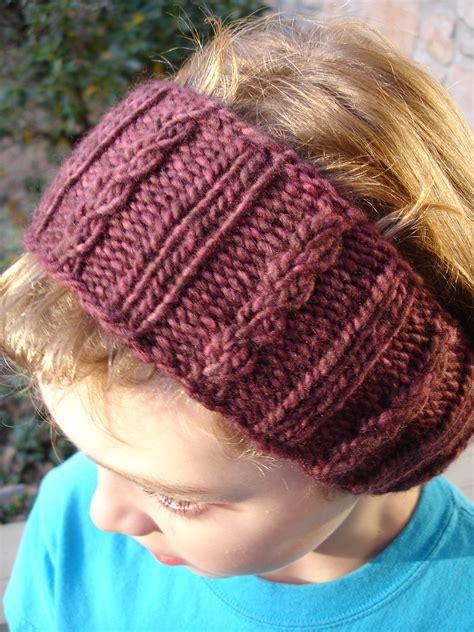 knit ear warmer pattern free earwarmer headband knitting patterns in the loop knitting