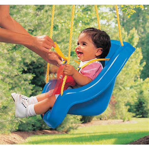 when can a baby use a swing happy babies in outdoor baby swings swing bench