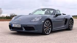 Porsche Blue Metallic 2017 Porsche 718 Boxster Graphite Blue Metallic