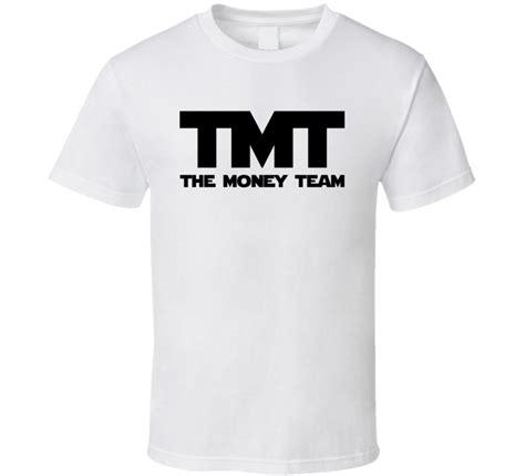 Kaos The Money Team Mayweather the money team floyd mayweather jr inspired black font