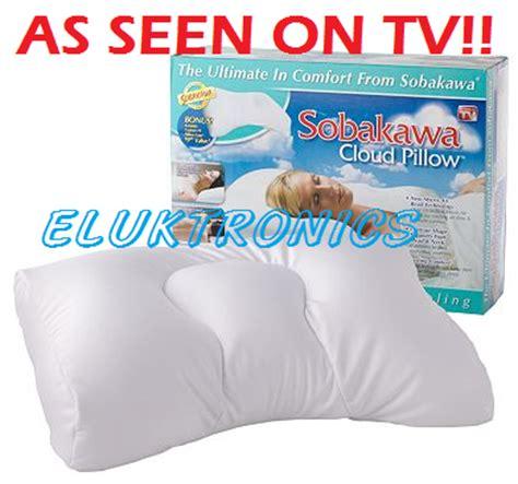 The Pillow As Seen On Tv by 2 X New As Seen On Tv Sobakawa Cloud Pillow Bonus Cases Ebay