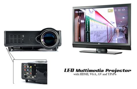 Tv Tuner Untuk Projector led 1080p multimedia projector with analog tv tuner tak