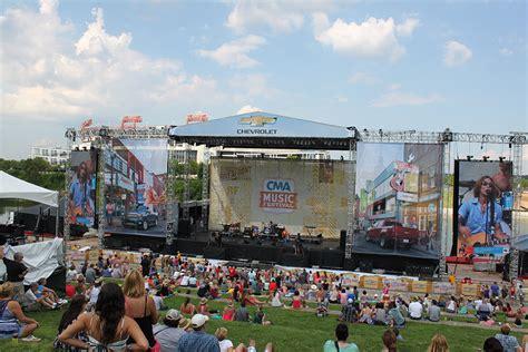 country music festival nashville schedule cma music festival in nashville trick roper