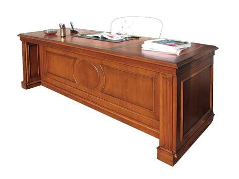 scrivanie di lusso scrivania in legno per uffici in stile classico idfdesign