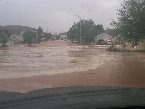 southern utah flooding stgnews photo gallery st george news