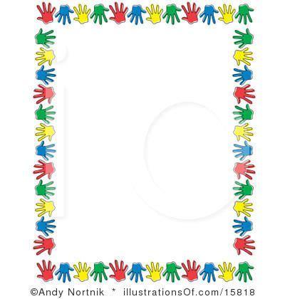 printable preschool stationary free preschool clip art stationary or scrapbook border