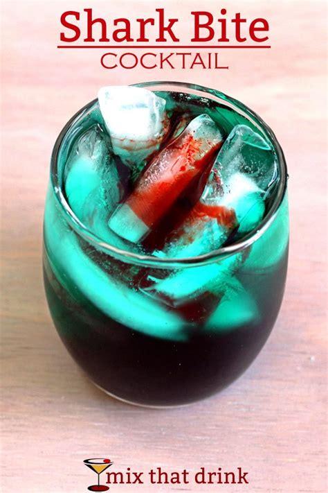 Superior Fun Alcoholic Drinks To Make #6: Shark-bite-cocktail-600x900.jpg