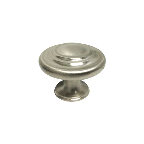 Brushed Nickel Kitchen Cabinet Knobs Satin Nickel Brushed Nickel Kitchen Cabinet Ring Knobs Pulls 1 1 4 Quot 32mm Ebay