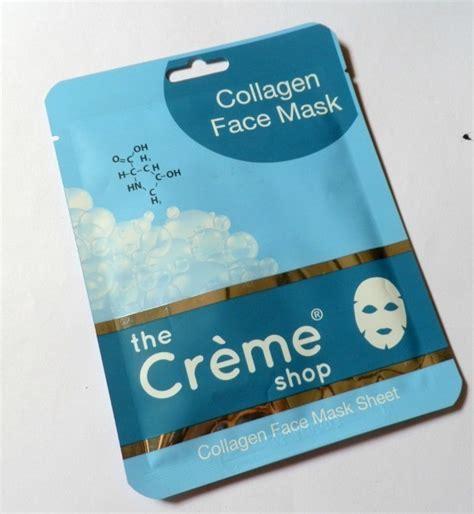 Masker Wajah Collagen Blue Biru Kolagen Gel Colagen the cr 232 me shop collagen mask review