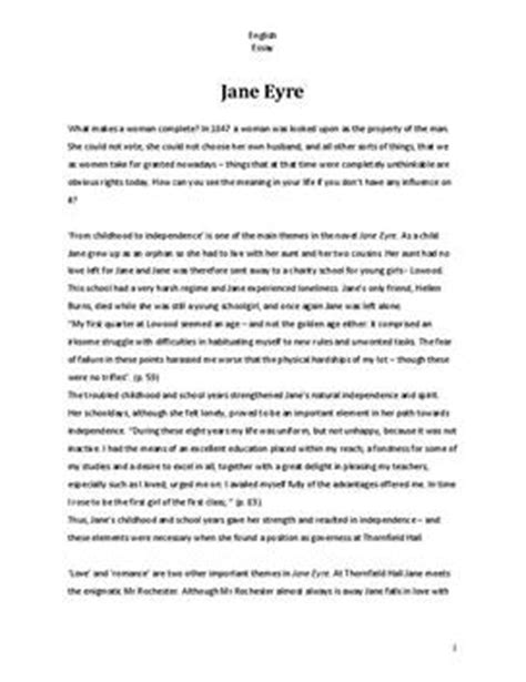 themes in jane eyre pdf jane eyre analyse und interpretation schulhilfe de