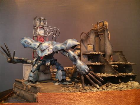 Diorama Gundam Gunpla gunpla diorama 1 144 msm 03 c hygog photoreview no 10 size images gunjap