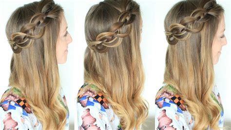 Pull Back Hairstyles by 4 Strand Pull Back Braided Hairstyle Braidsandstyles12