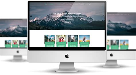 et photography free responsive joomla photography template
