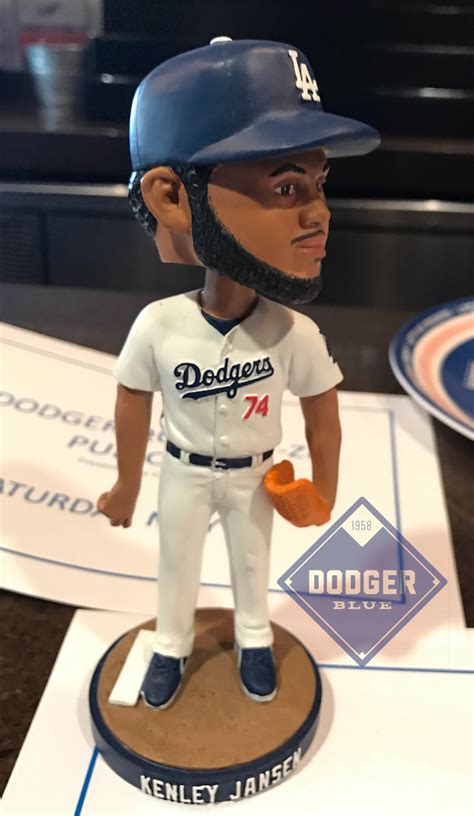 Dodger Game Giveaways 2017 - kenley jansen 2017 bobblehead dodgerblue com