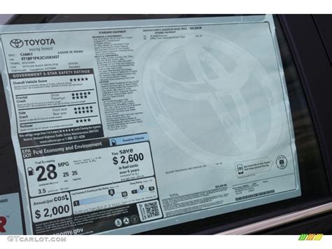 Toyota Vin Check Use Vin For Toyota Window Sticker Autos Post