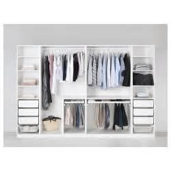 ikea kleiderschrank pax pax wardrobe white fardal high gloss white 300x60x201 cm
