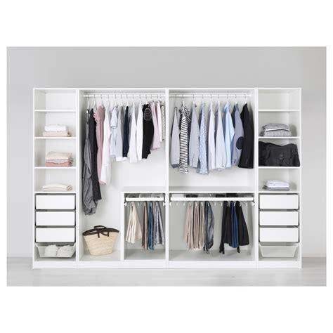 kleiderschrank ikea pax wardrobe white fardal high gloss white 300x60x201 cm