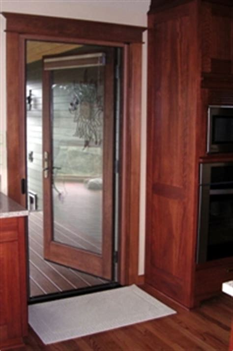 screen door for outward swinging door retractable screen door photo gallery