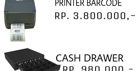 Rak Komponen Elektronika paket komputer bandung printer kasir scanner barcode