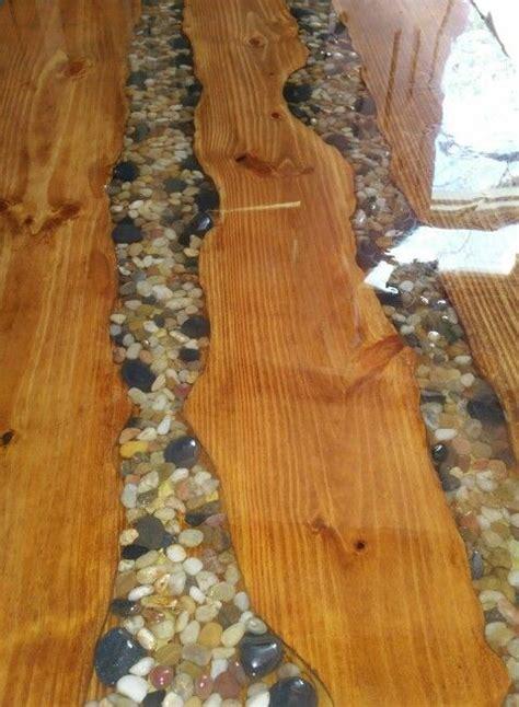 table top   resin  rock epoxy resin wood