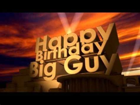 Happy Birthday Images For Guys