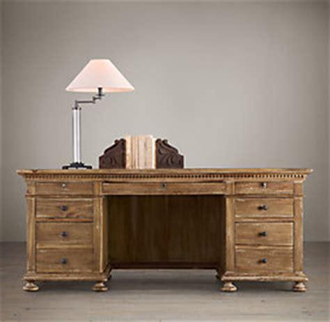 restoration hardware desk l st 76 quot desk