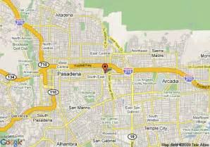 map of comfort inn pasadena pasadena