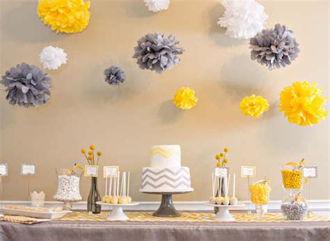 Chevron Baby Shower Decorations by Chevron Baby Shower Baby Shower Ideas Themes
