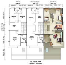 Beautiful Floorplans For Homes #8: Floor-plan-3-storey-terrace-casuarina-first-floor.jpg