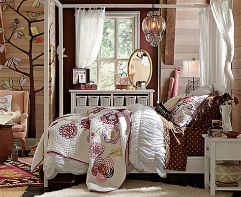 bedroom designs with beautiful decorating pb teen girls