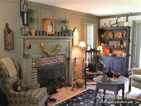 Primitive Living Room Furniture Primitive Living Rooms On Pinterest Primitive Living Room Primitives And Chairs