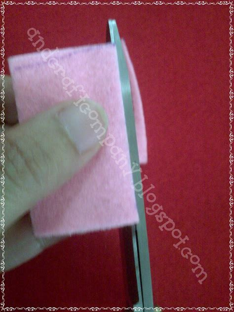Pita Grosgrain Motif 1 Inci No 4 Dan No 5 easy to make wafer stick from felt part 2 and s