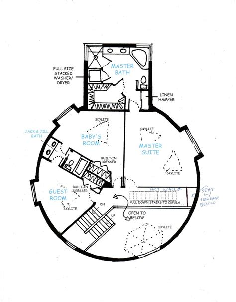 Geodesic Dome House Plans Geodesic Dome Home 2nd Floor By Liquiddisplay On Deviantart