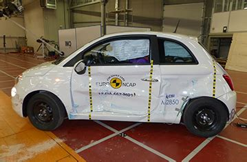 fiat 500 safety ratings official fiat 500 safety rating