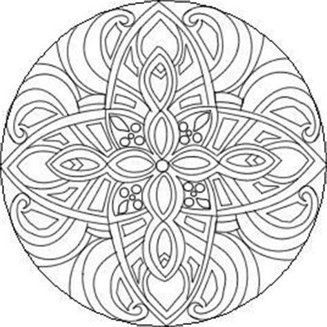 intermediate mandala coloring pages pin by ammm on mandalas