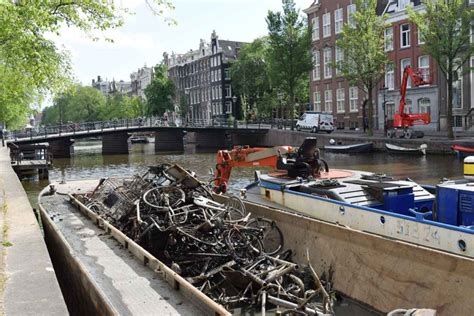 trash boat amsterdam where people are paid full time with benefits to fish