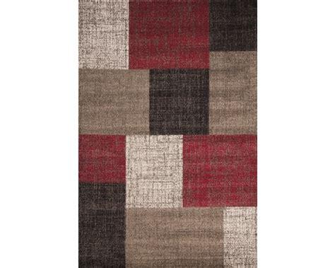 hornbach teppich teppich switzerland geneva rot 80x150 cm bei hornbach kaufen