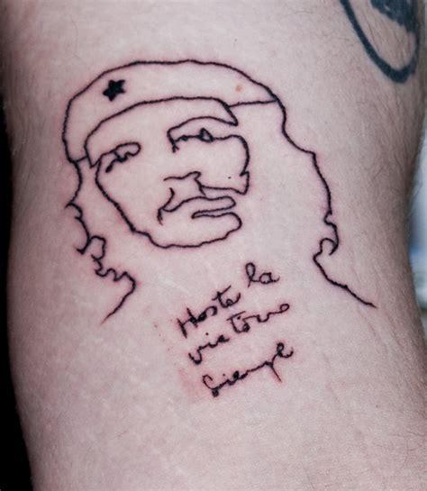 che guevara tattoo che guevara quotes tattoos quotesgram