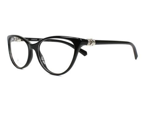 swarovski eyeglasses sk 5244 001 black visio net