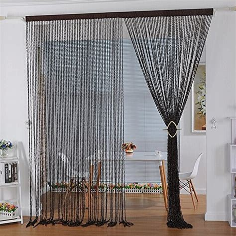 decorative partition curtains crazy genie high quality string thread curtain corridor