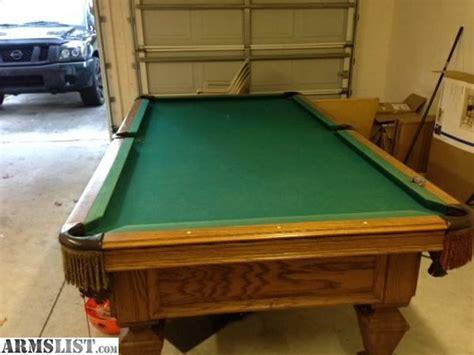 8ft slate pool armslist for sale trade 8ft olhausen slate pool