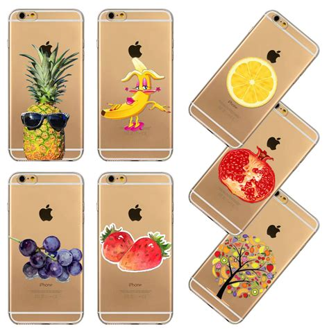 Soft Cool Fruit Lemon Orange For Iphone 6 6s T0310 strawberry phone reviews shopping strawberry phone reviews on aliexpress