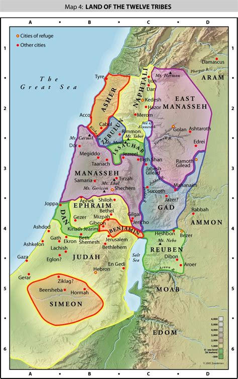 israel map today planted march 2011