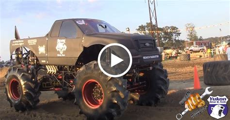 monster mud truck videos insane monster truck at dennis anderson mud park