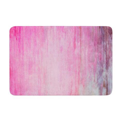 Wash Bath Mat by Iris Lehnhardt Quot Color Wash Pink Quot Blush From Kess Inhouse