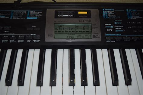 casio key lighting keyboard casio key lighting keyboard lk 170 new in opened box ebay