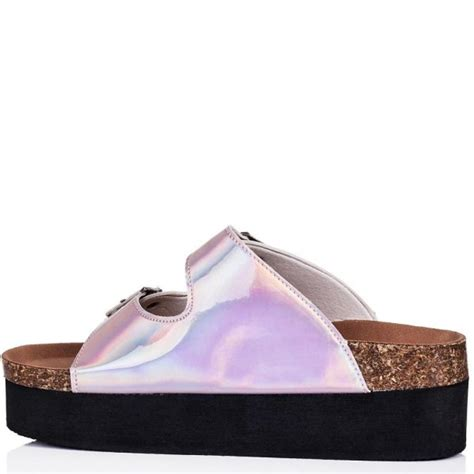 buy tropic wedge heel buckle platform sandal shoes pink