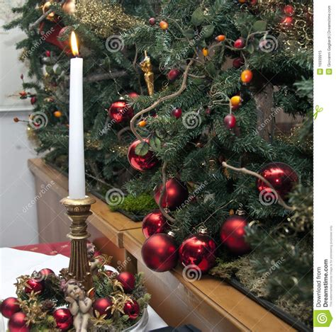 christmas decorations italy royalty free stock photo